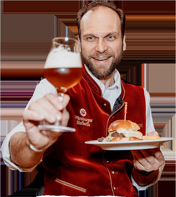 Kulinarische Bierprobe